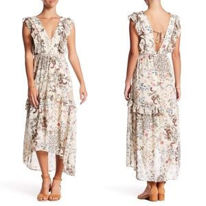 WAYF Primrose Floral Hi-Lo Dress